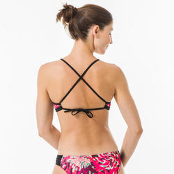 Bikinitop voor surfen Andrea Furai Blogger high neck