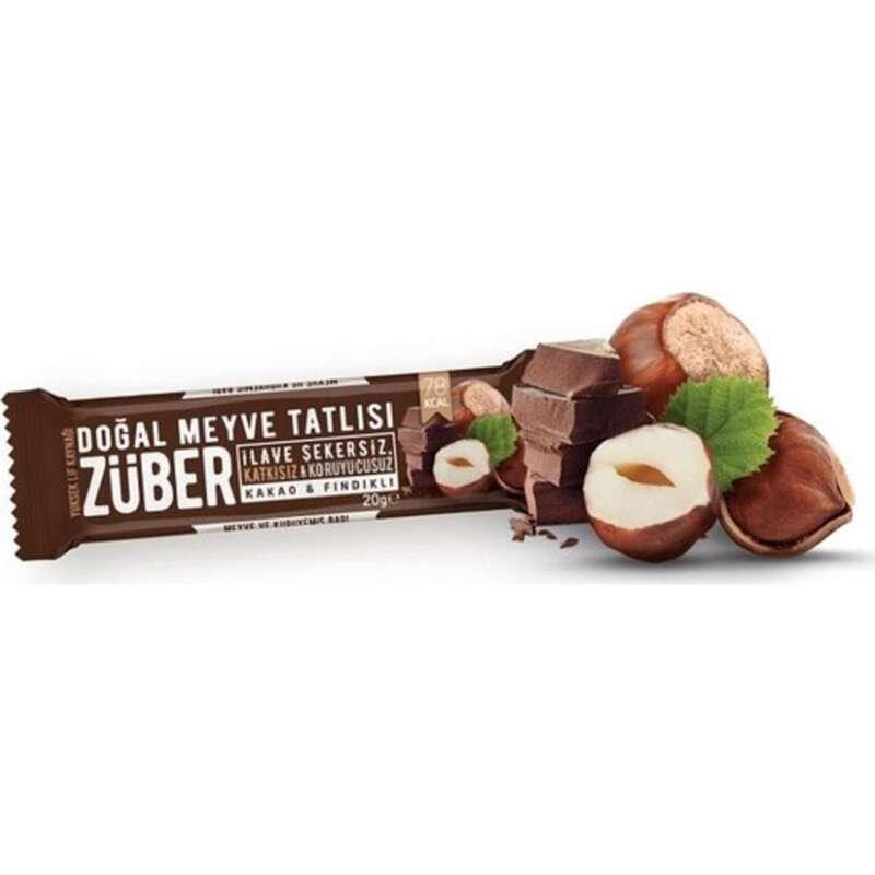 BARLAR, JELLER& SPOR SONRASI GİYİM - Züber Fındık Kakaolu Çikolata ZUBER - ERKEK