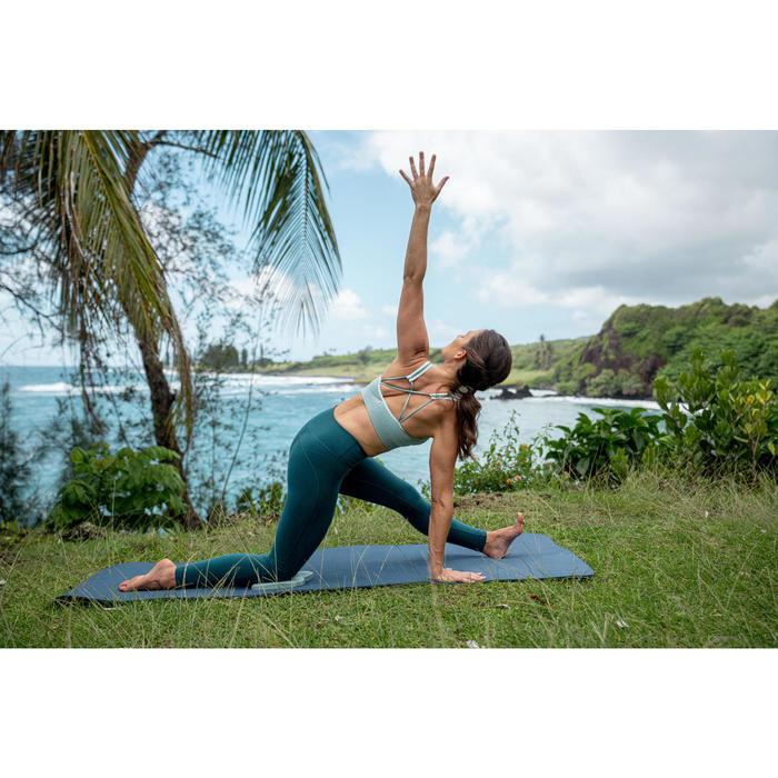 Seamless Gentle Yoga Sports Bra - Pale Green