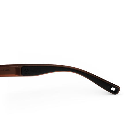 Сонцезахисні окуляри 140 для туризму, кат. 3 - Коричневі/Золотисті