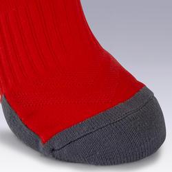 Kids' Football Socks F500 - Neon Orange