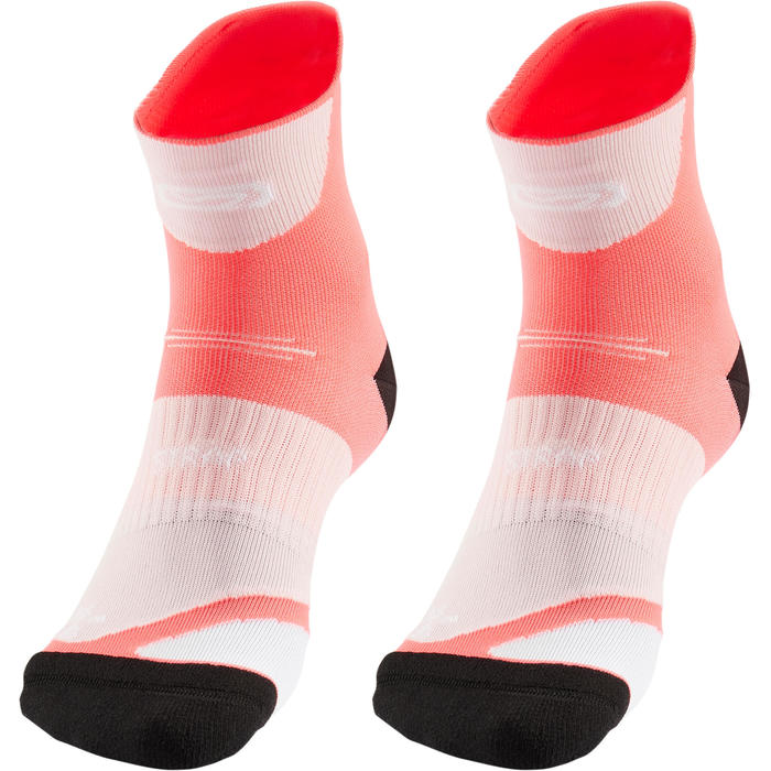 RUNNING THICK STRAP SOCKS - PINK