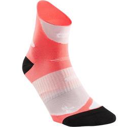 跑步束帶式厚運動襪 - 粉色