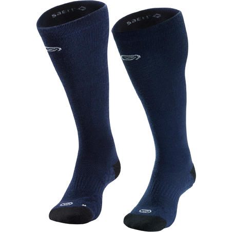 High Merino Wool Running Socks – Blue