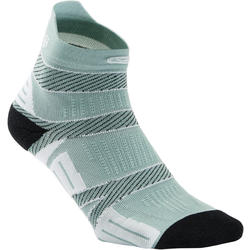 STRAP THIN RUNNING SOCKS - GREY
