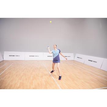Jupe de badminton Femme 530 - Gris
