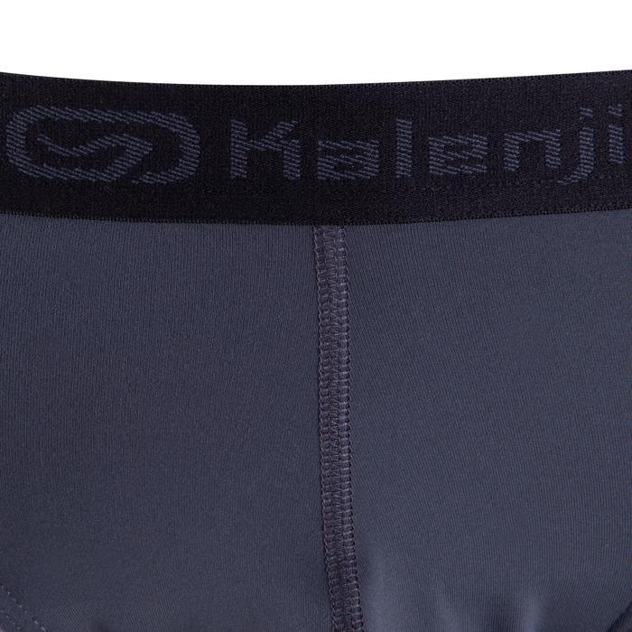 Slip Running Kalenji Respirant Hombre Negro/Gris Transpirable