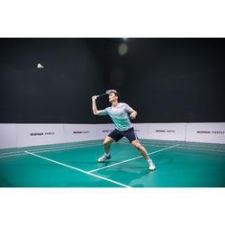 Badmintonshort voor heren 560 marineblauw/blauw