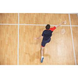 T-Shirt de badminton Homme 530 - Marine/Rouge