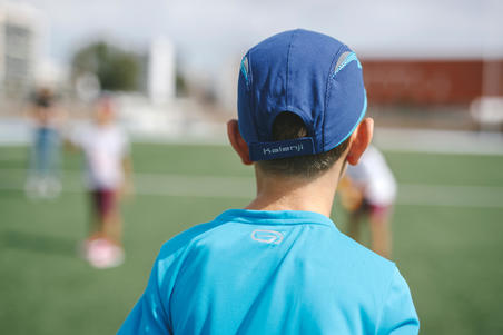 KIDS' ATHLETICS CAP - BLUE