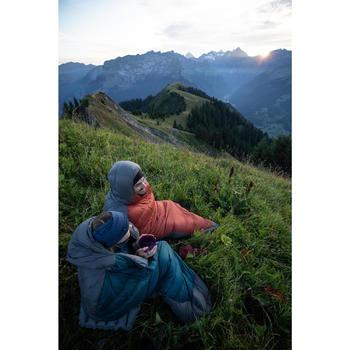 Sac de couchage de trekking - TREK 900 10° duvet bleu gris