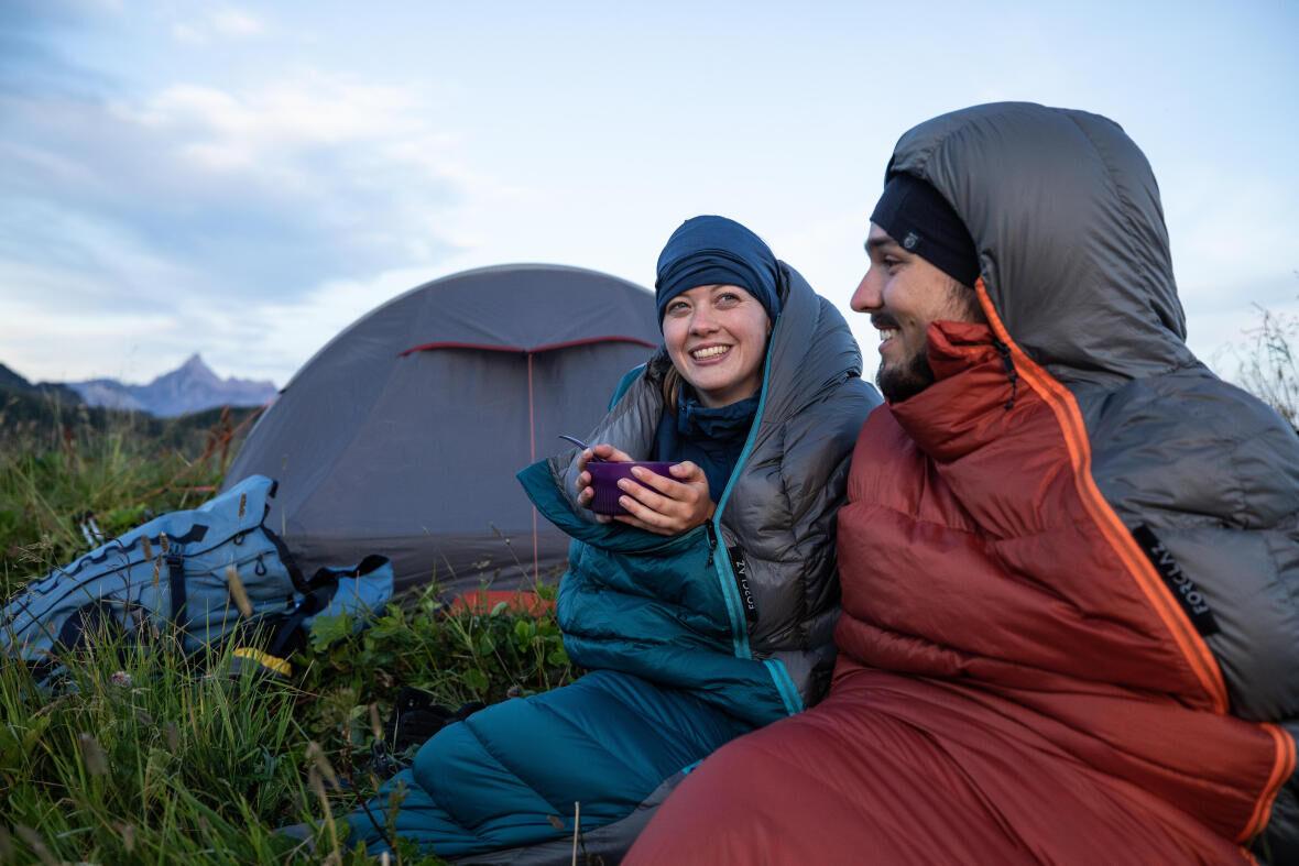Quechua Forclaz sleeping bag warmth tips