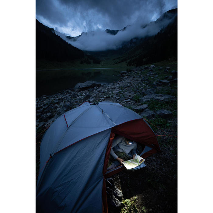 Sac de couchage de trekking - TREK 500 10° gris