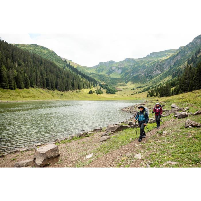 Waterproof mountain Trekking hat | TREK 900 - Dark