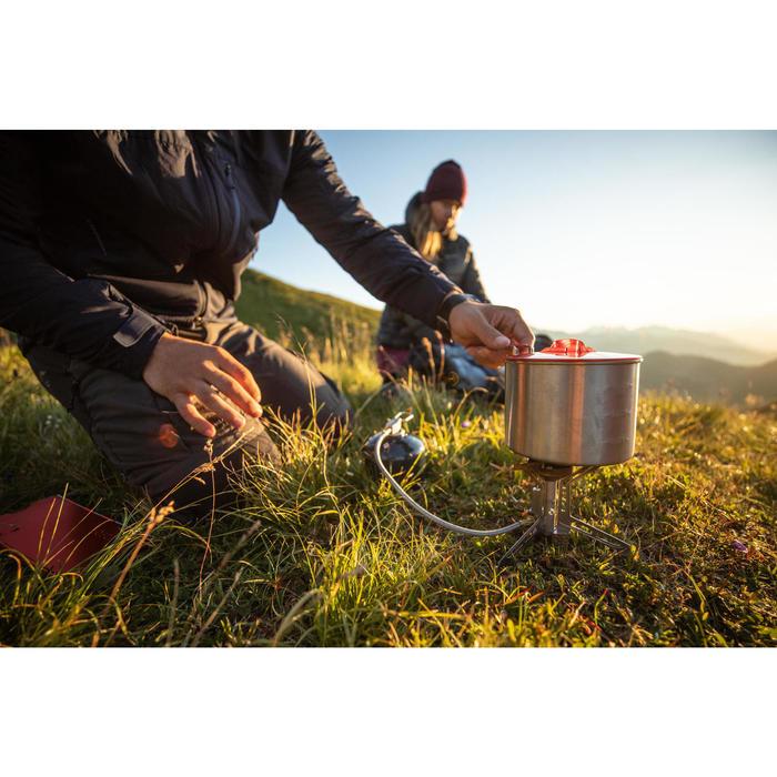 Réchaud à gaz stable avec piezo de trek - TREK 500 déporté