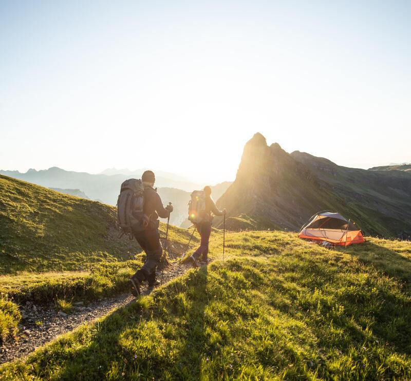 commencer le trek ne pas avoir peur de dormir sous la tente