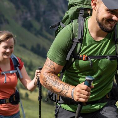 Come scegliere una t-shirt da montagna e trekking | DEACTHLON