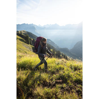 Rugzak voor bergtrekking dames Trek 900 Symbium 70+10 l bordeaux