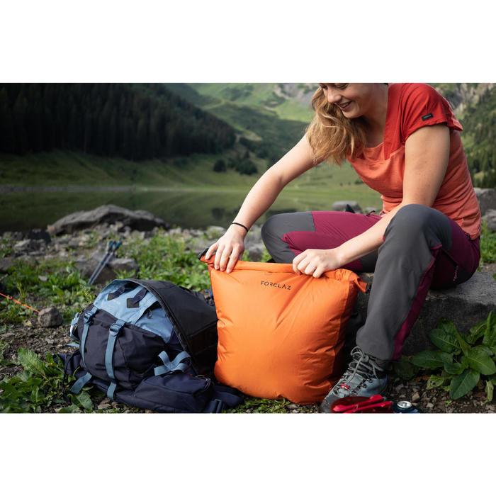 Set van 2 opberghoezen voor trekking - halfrond en waterdicht - 2 x 15 l
