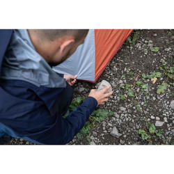 Trekking 3 Seasons Dome 2-Person Tent Trek 500 Fresh & Black