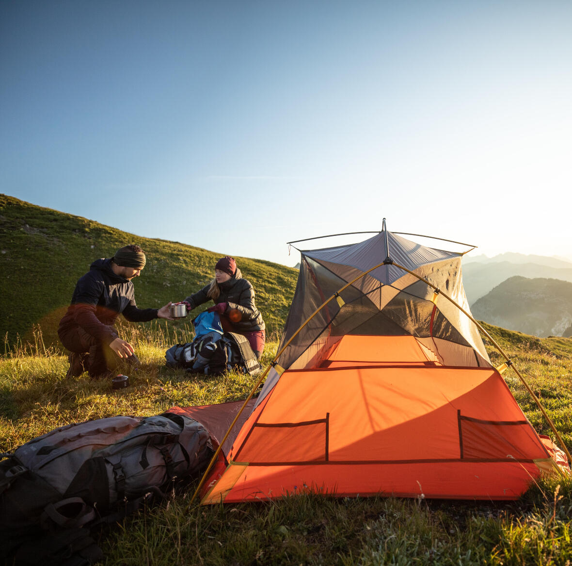How to prevent condensation in tents?