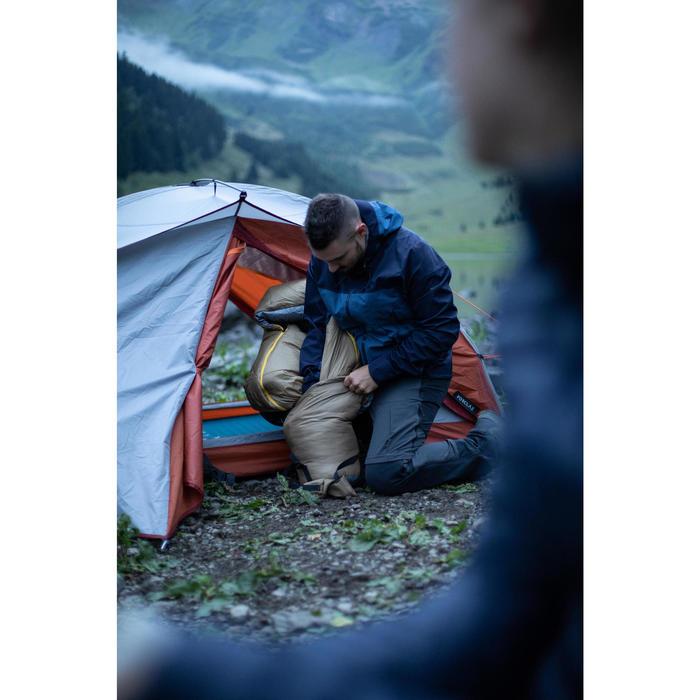 Sac de couchage de trekking - TREK 500 0° marron