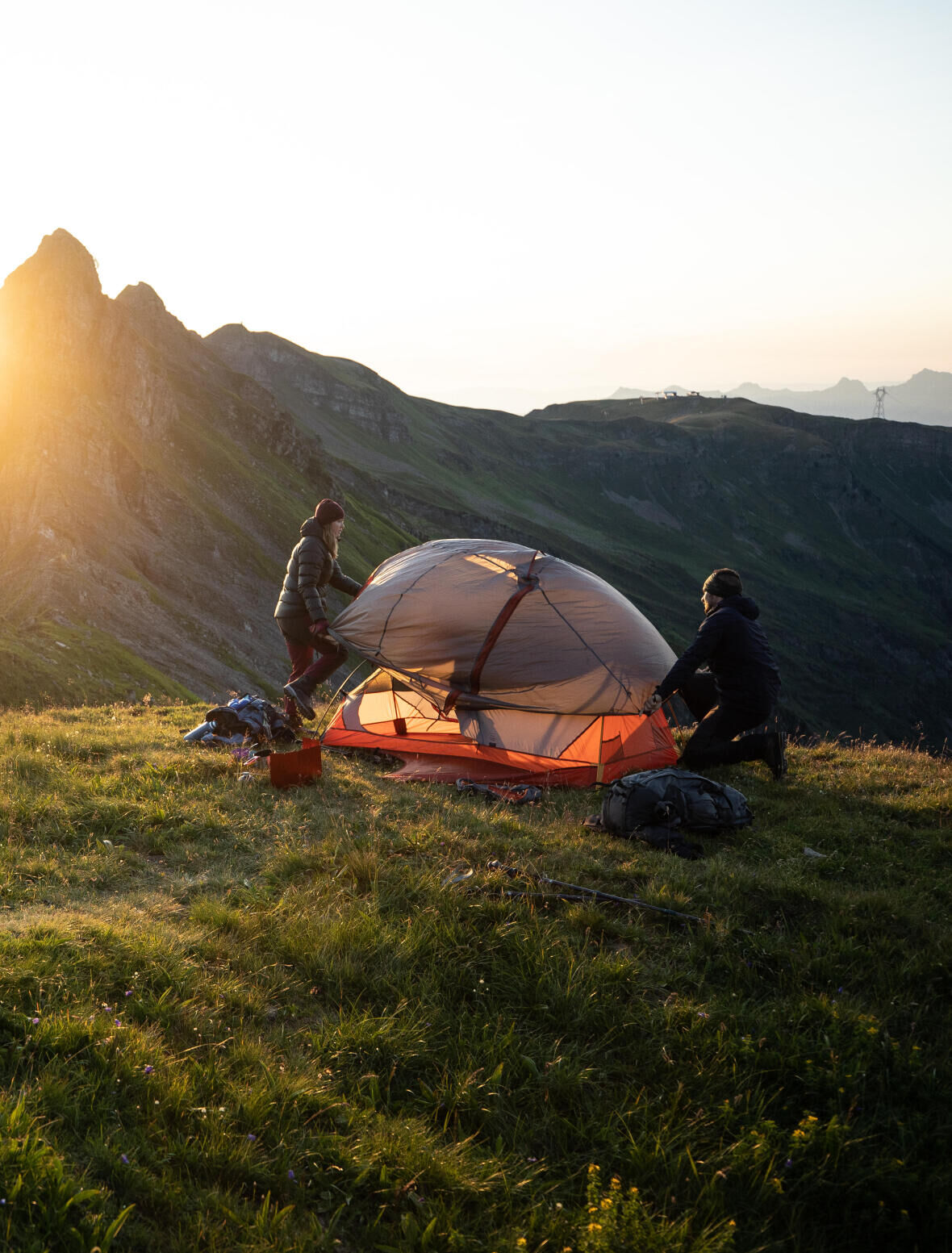 How to choose a tent - trekking tent