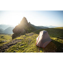 Tente de trekking autoportante 3 saisons - TREK 900 grise 1 personne