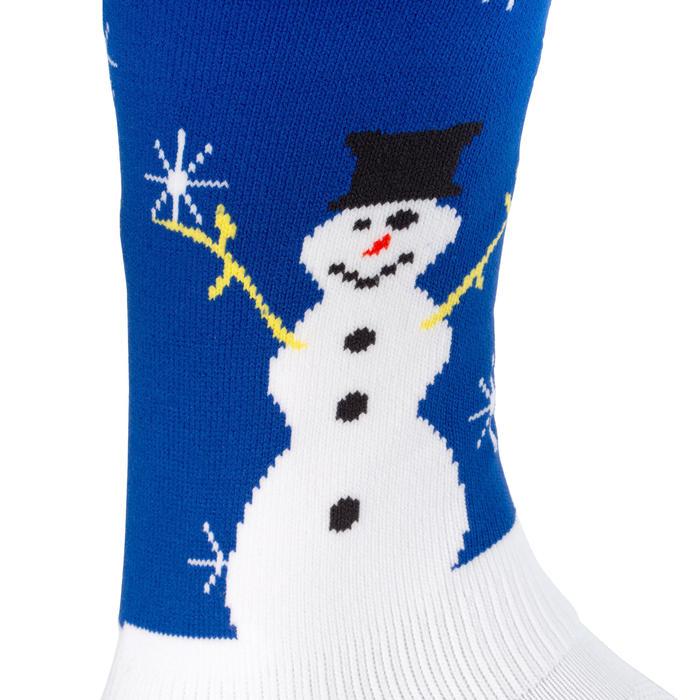 Chaussettes de hockey sur gazon enfant et adulte FH500 Noël