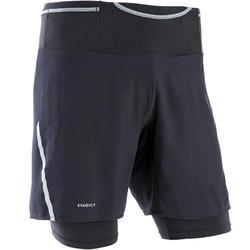 Short cuissard confort trail running noir homme