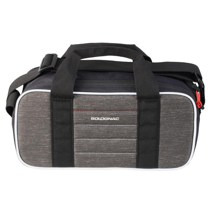 SAC DE TRANSPORT BALL-TRAP 100 CARTOUCHES GRIS (4 BOITES DE 25 CARTOUCHES).