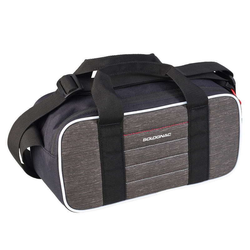CLAY SHOOTING EQUIPMENT Shooting and Hunting - Clay 100 Cartridge Bag - Grey SOLOGNAC - Hunting and Shooting Accessories