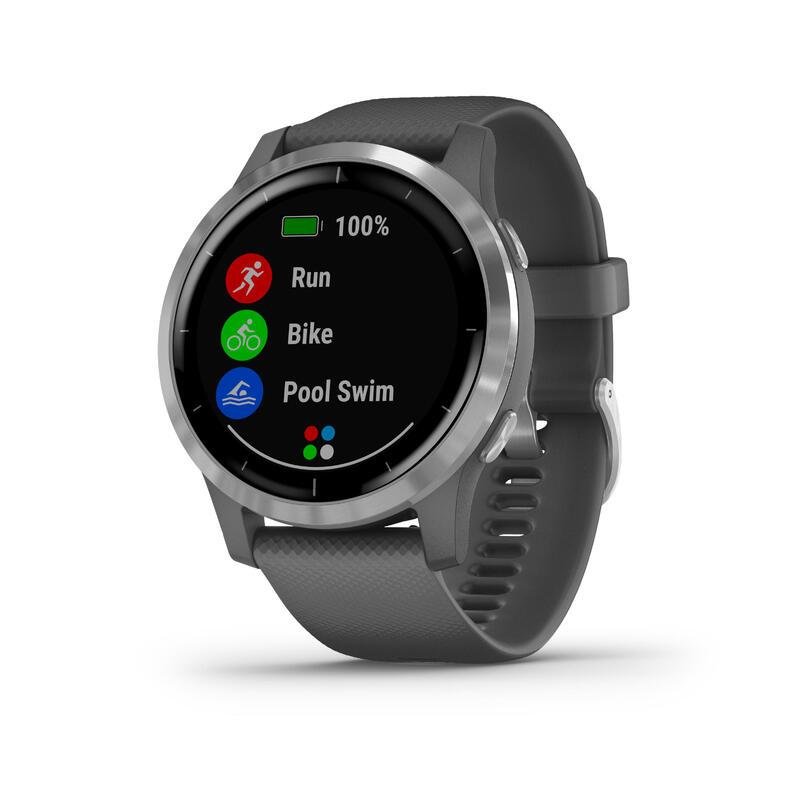 Garmin Vivoactive 4 Music Reloj inteligente Smartwatch Gris