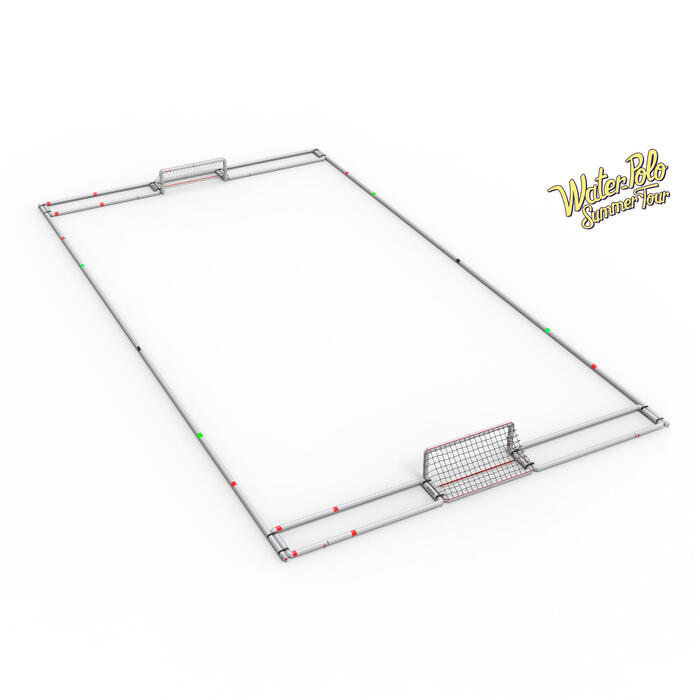 TERRAIN GONFLABLE WATER POLO 20 m x 10 m
