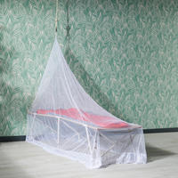 Non-treated travel mosquito net for 1 person - Quechua