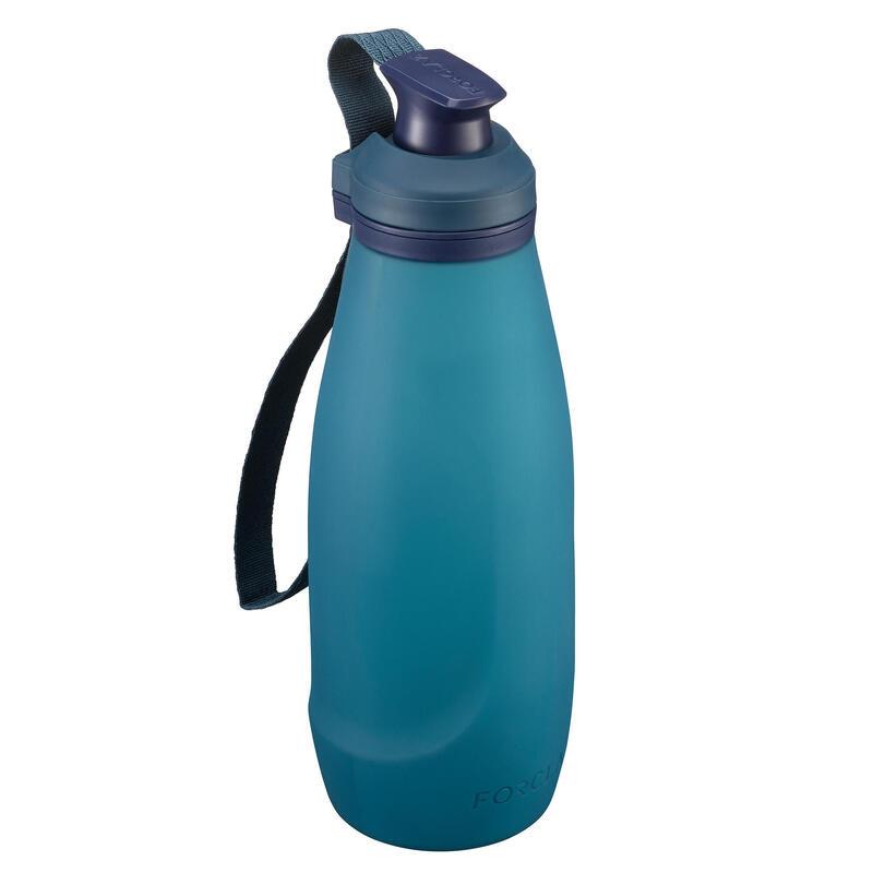 Soft, Compressible Trekking Flask TREK 500 Soft 1L - Blue