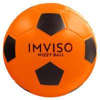 М'яч Wizzy для футзалу, з піноматеріалу, розмір 4 - Помаранчевий/Чорний