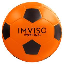 Bola de Futsal Espuma Wizzy Tamanho 4 Laranja/Preto