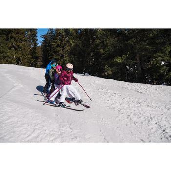 兒童滑雪長褲100 - 白色