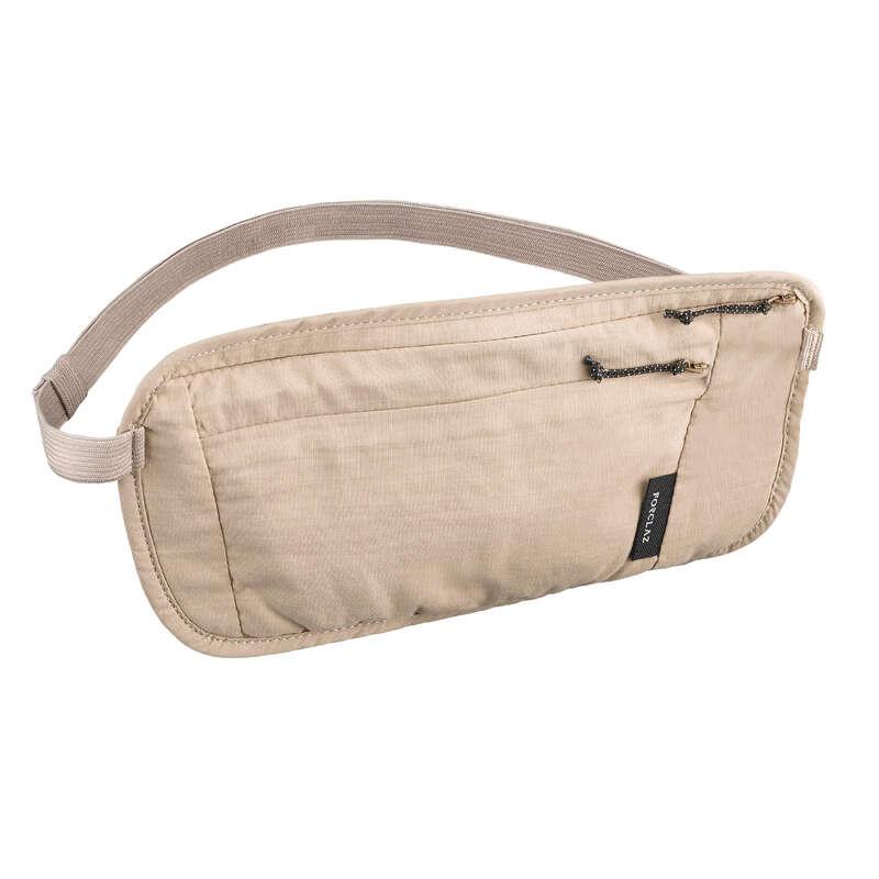 Kompakt hátizsák, backpacking kiegészítők Túrázás - Övtáska Travel FORCLAZ - Túra felszerelés