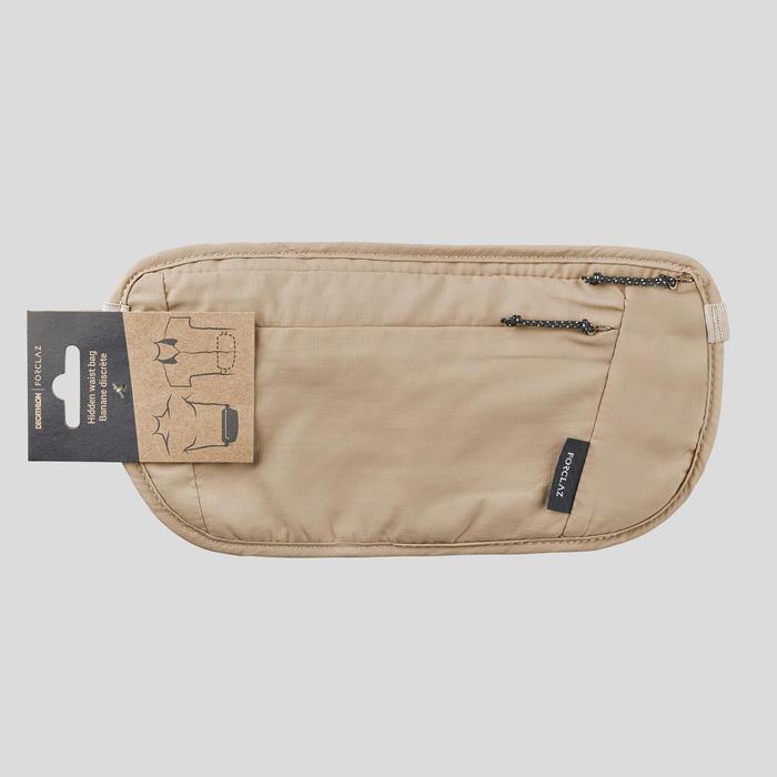 Discreet Travel Belt Bag - Beige