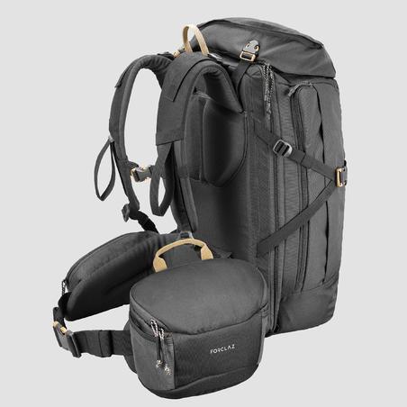 Travel Trekking Camera Bag TRAVEL Grey