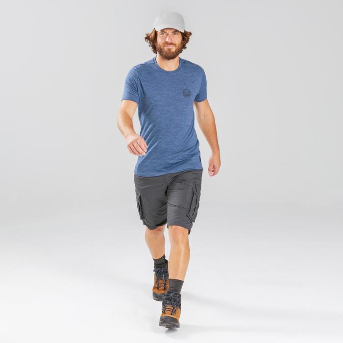 健行帽Travel 100-淺灰色