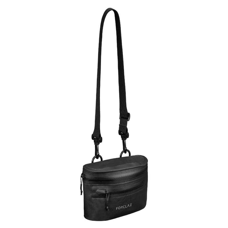 COMPACT BACKPACKS TRAVEL ACC TRAVEL TREK Trekking - Waterproof Belt Bag - Black FORCLAZ - Trekking BLACK