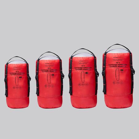 Trek 500 Trekking Sleeping Bag 15°C