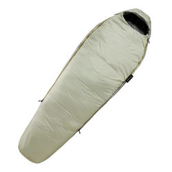 Trekking sleeping bag - TREK 500 10° grey