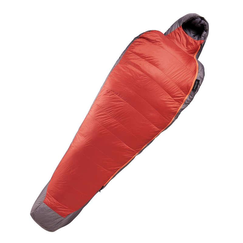 SLEEPING BAG, MATTRESSES SHEETS ACC TREK Trekking - Down Sleeping Bag Trek 900 0° FORCLAZ - Trekking