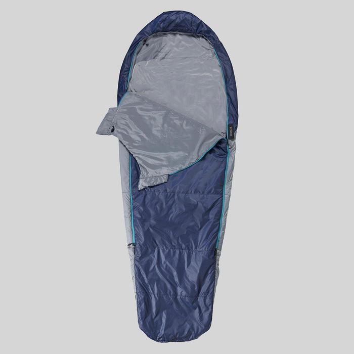 Sac de couchage de trekking - TREK 500 15° bleu