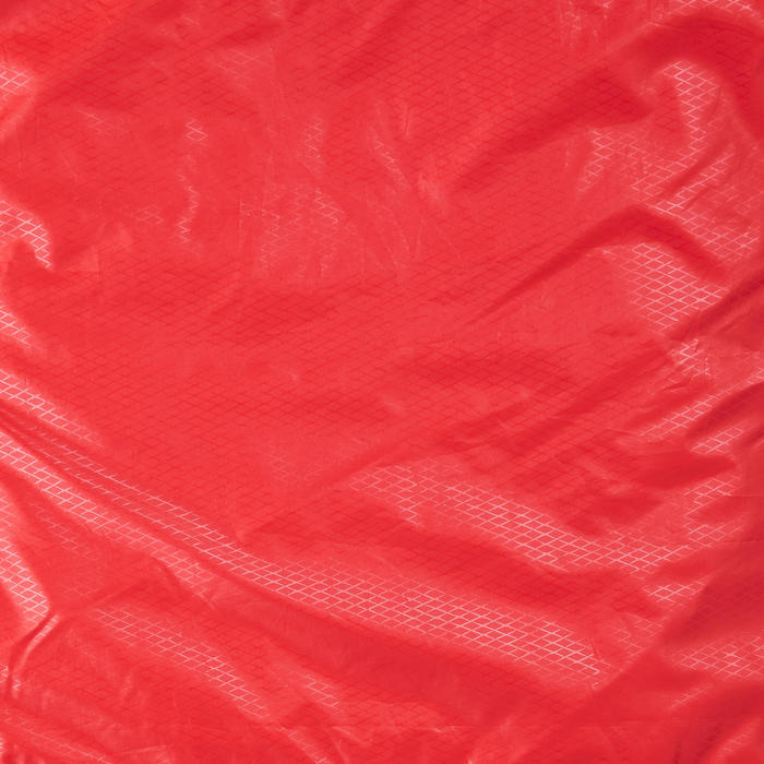 SAC DE COUCHAGE SARCOPHAGE DE TREKKING - TREK 500 15°C OUATE JUMELABLE - ROUGE