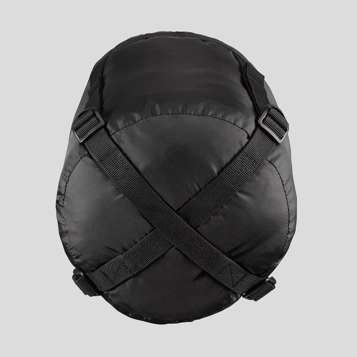 Housse de compression de sac de couchage trek 19L noire